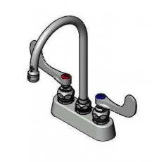 B-1140-WH4 Manual Faucets : Workboard & Bar Sink Faucets - T & S Brass